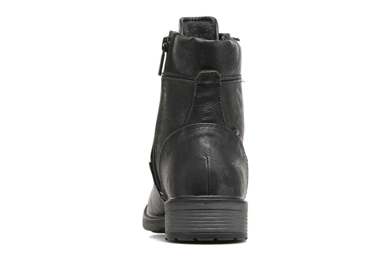 Bottines et boots Mustang shoes Madaner Bleu vue droite