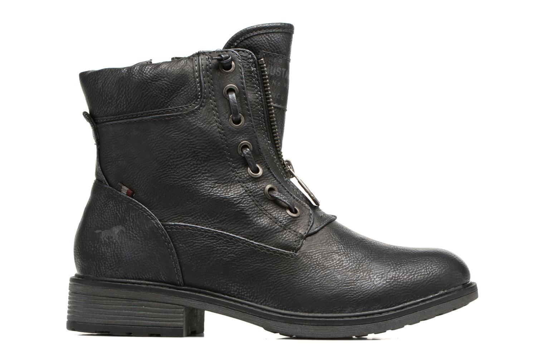 Bottines et boots Mustang shoes Madaner Bleu vue derrière