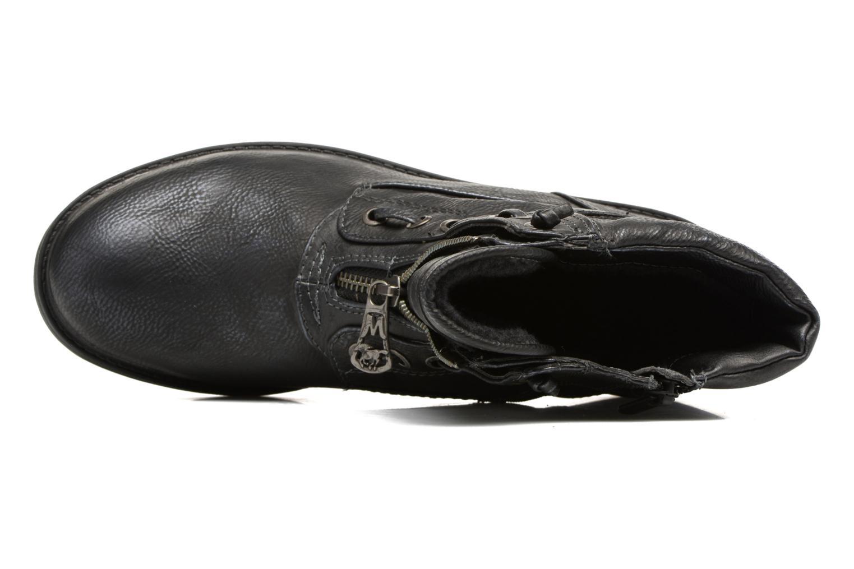Bottines et boots Mustang shoes Madaner Bleu vue gauche