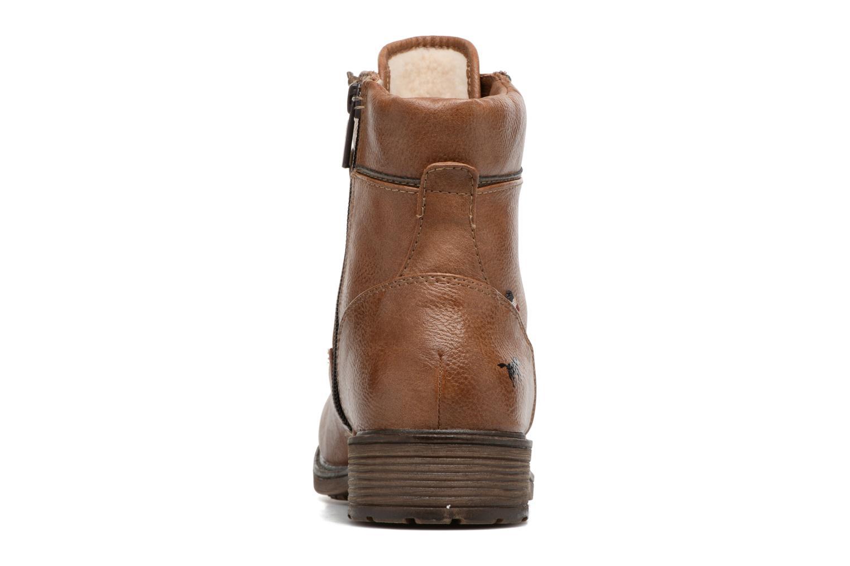 Bottines et boots Mustang shoes Madaner Marron vue droite