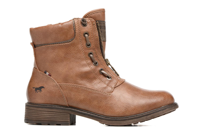 Bottines et boots Mustang shoes Madaner Marron vue derrière