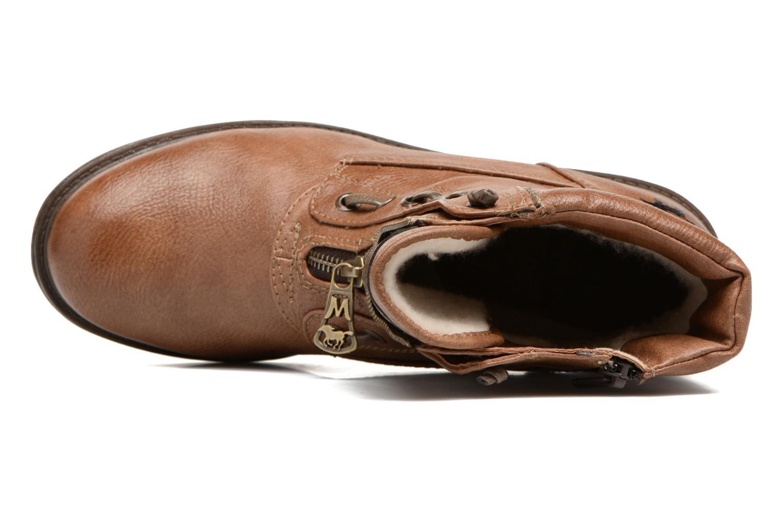Bottines et boots Mustang shoes Madaner Marron vue gauche
