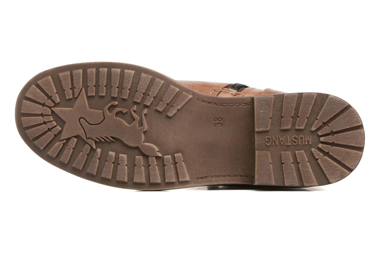 Bottines et boots Mustang shoes Madaner Marron vue haut