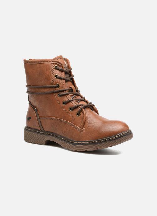 Damen Kickers Folk Stiefeletten /& Boots Braun