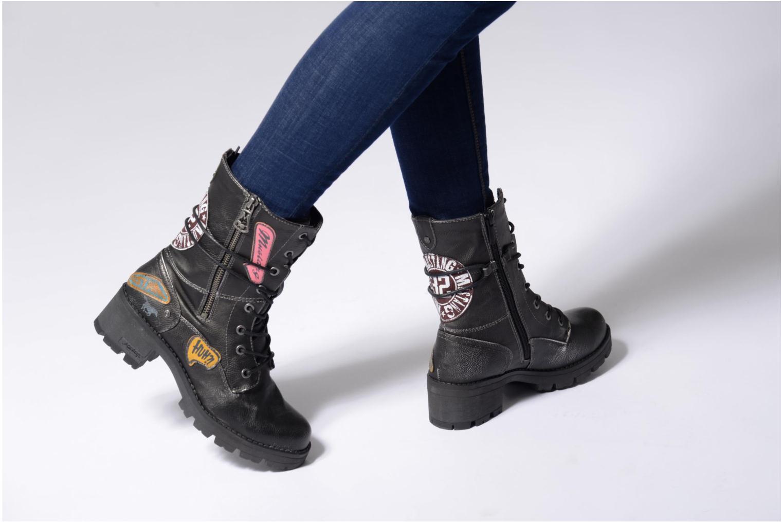 Bottines et boots Mustang shoes Galfir Argent vue bas / vue portée sac