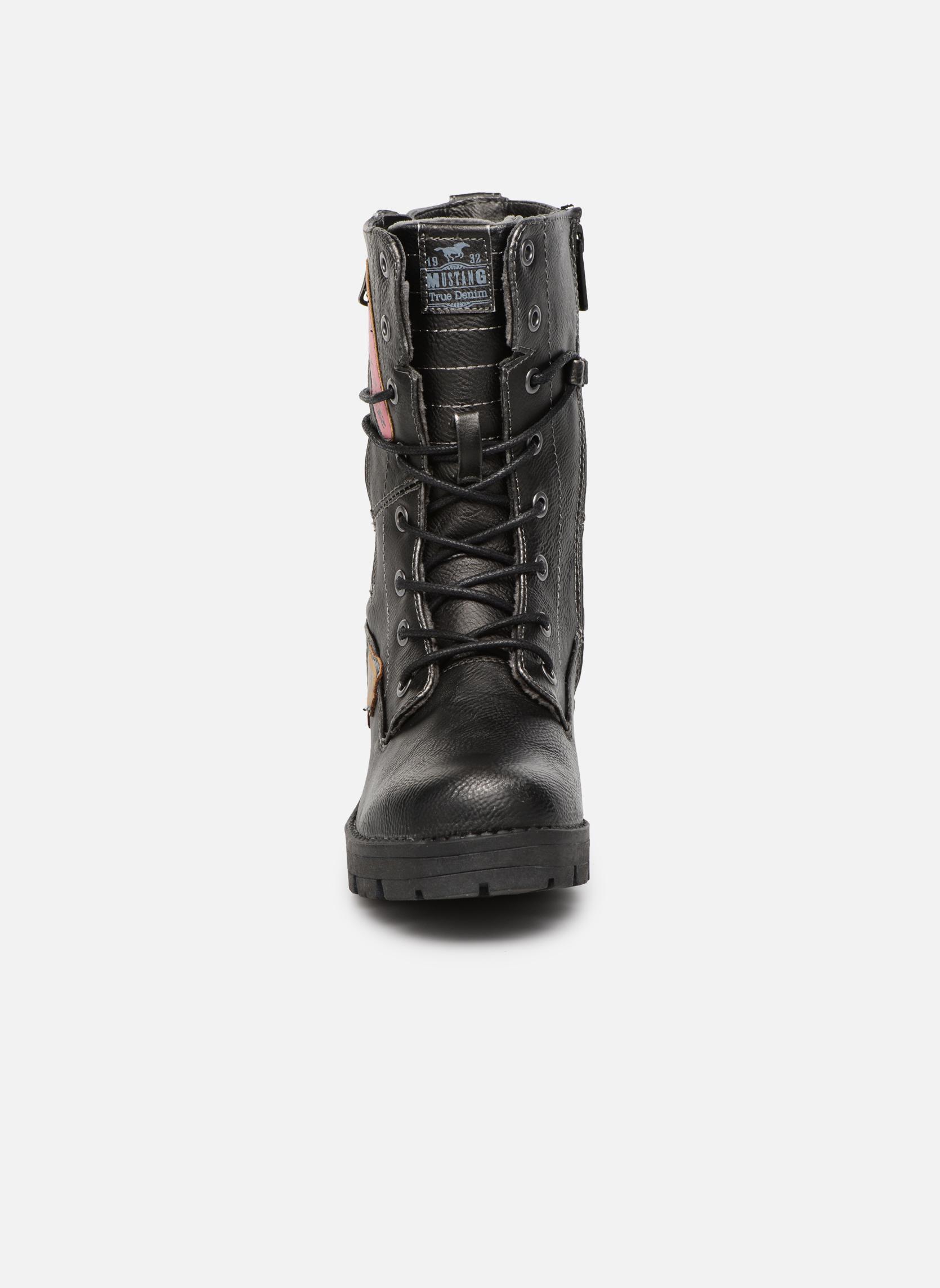 Bottines et boots Mustang shoes Galfir Argent vue portées chaussures