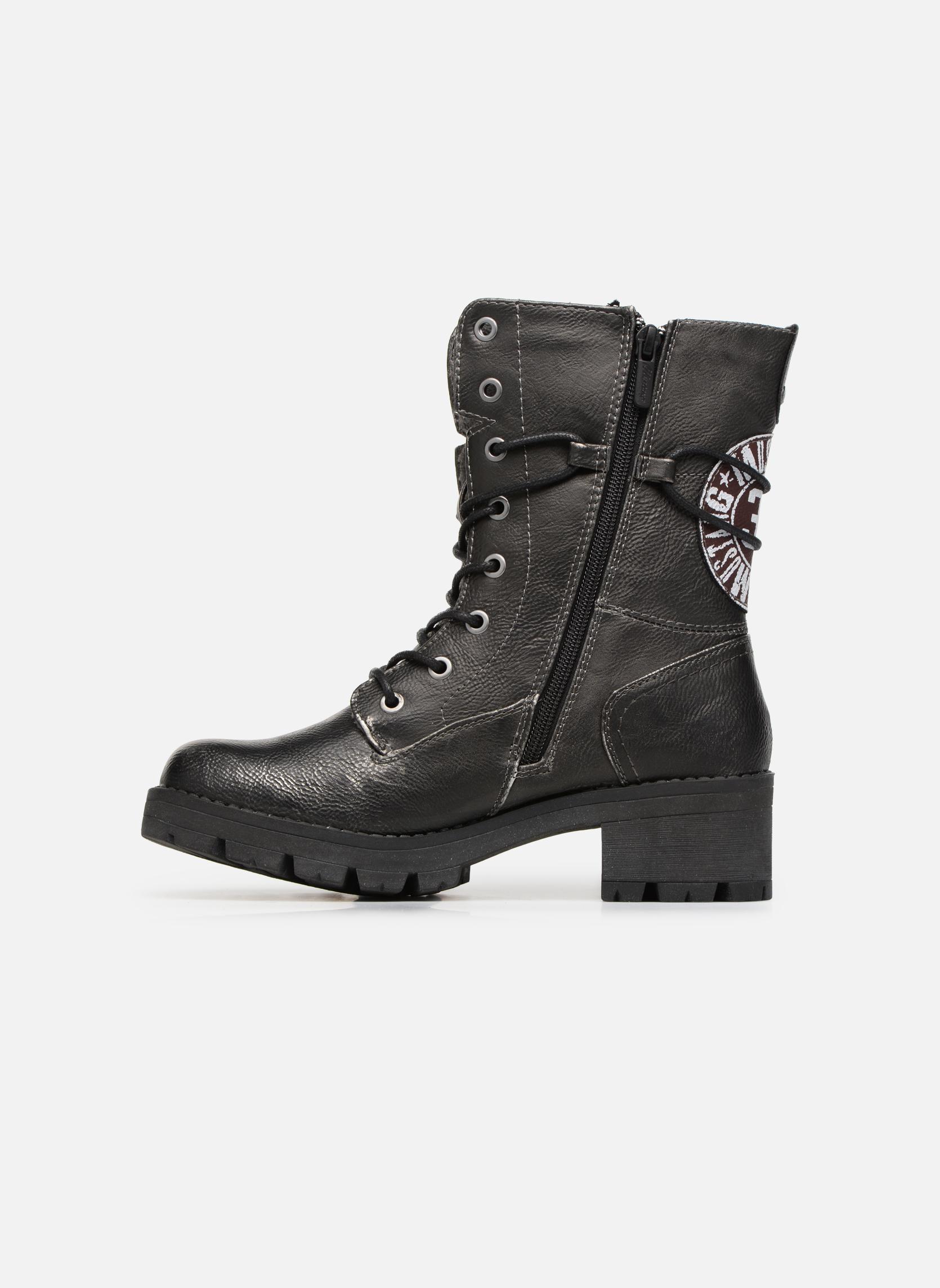 Bottines et boots Mustang shoes Galfir Argent vue face