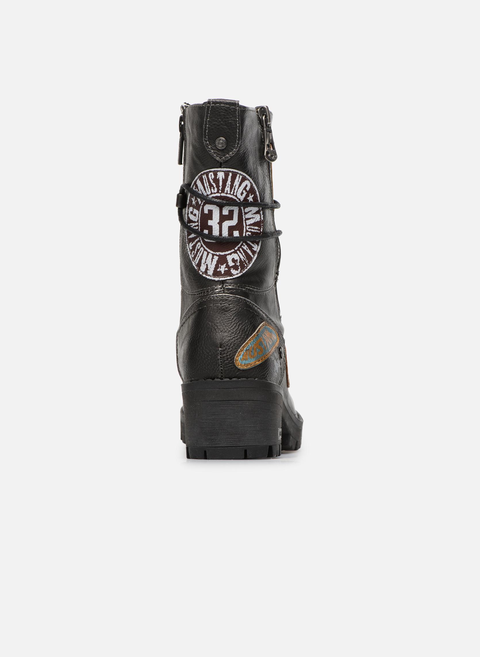 Bottines et boots Mustang shoes Galfir Argent vue droite