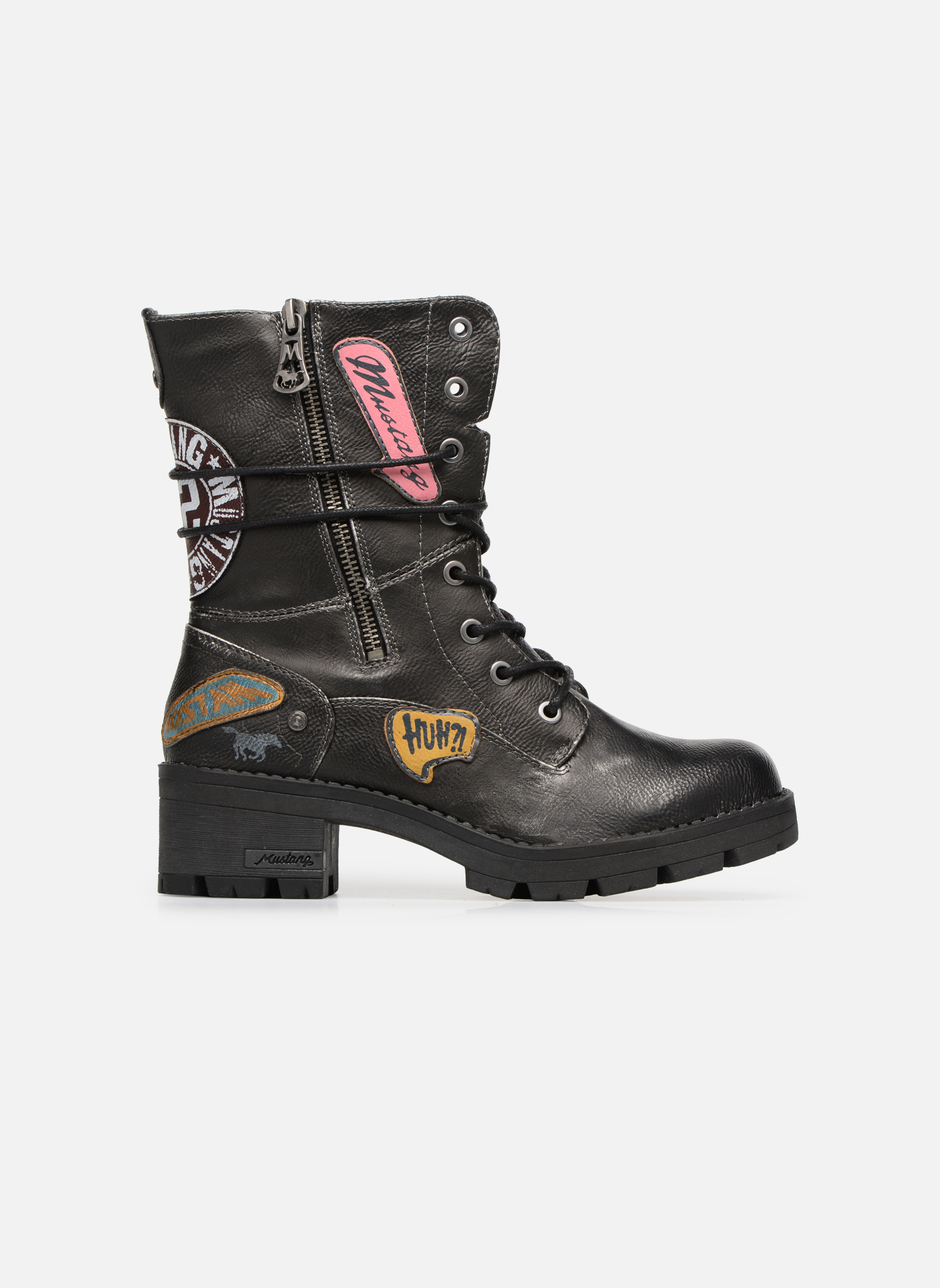 Bottines et boots Mustang shoes Galfir Argent vue derrière