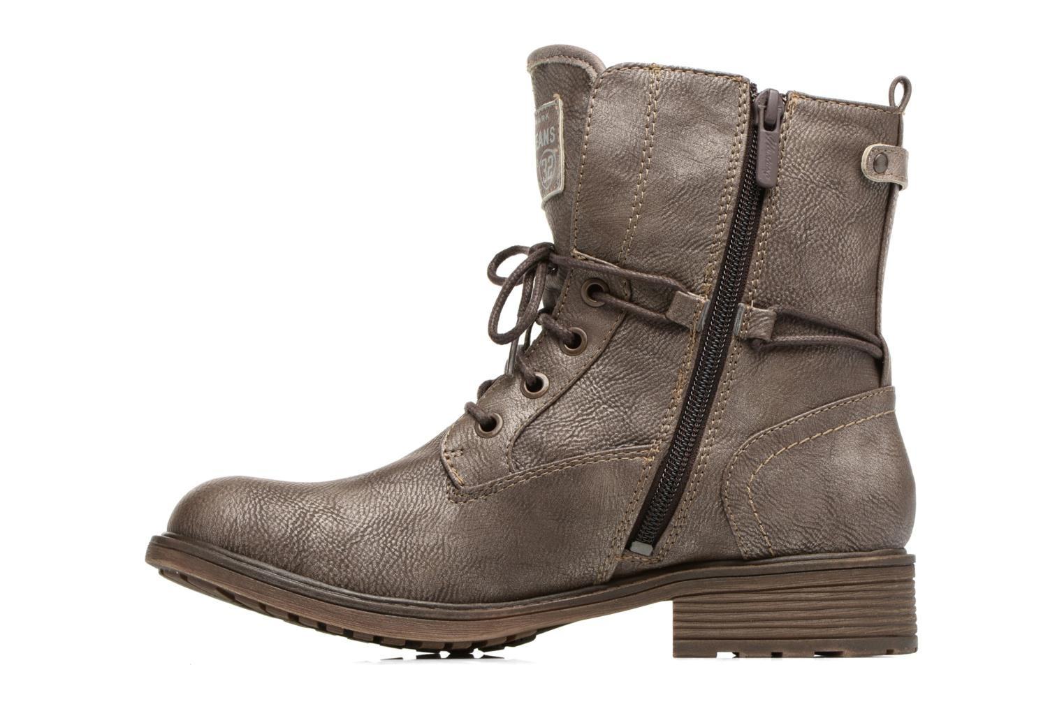Ankle boots Mustang shoes Sarliath Brown front view