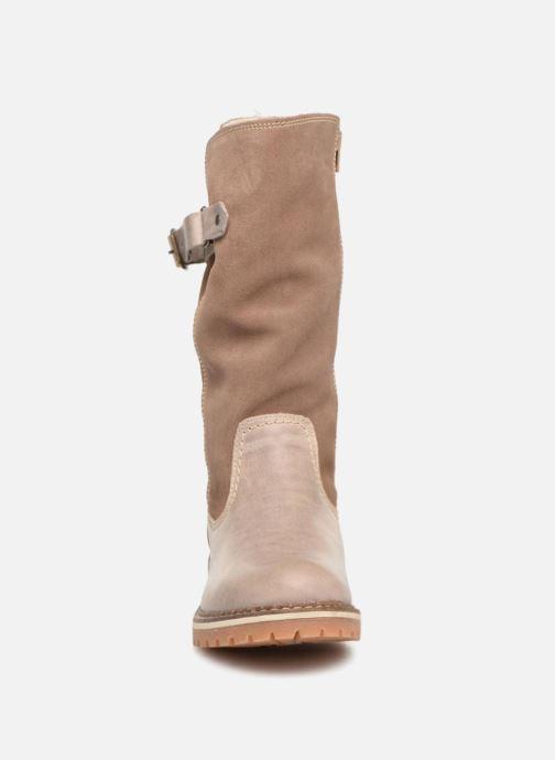 Laarzen Mustang shoes Cilber Beige model