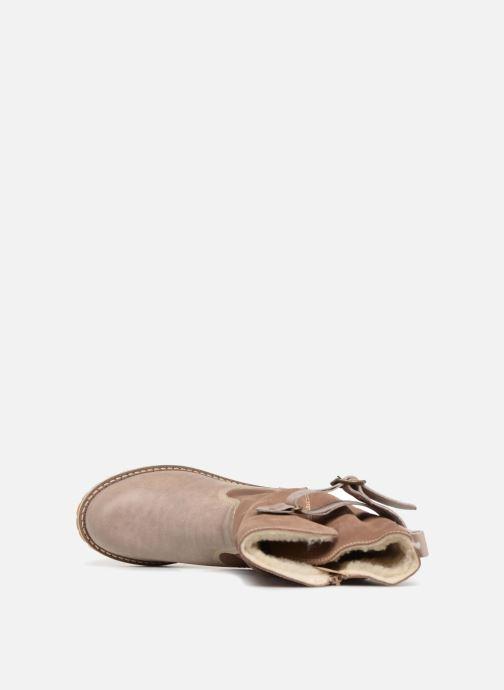 Laarzen Mustang shoes Cilber Beige links