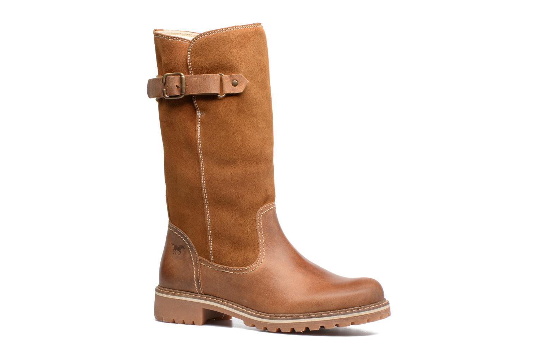 Chez Mustang marron Shoes Bottes Sarenza Cilber 309423 x110qwa