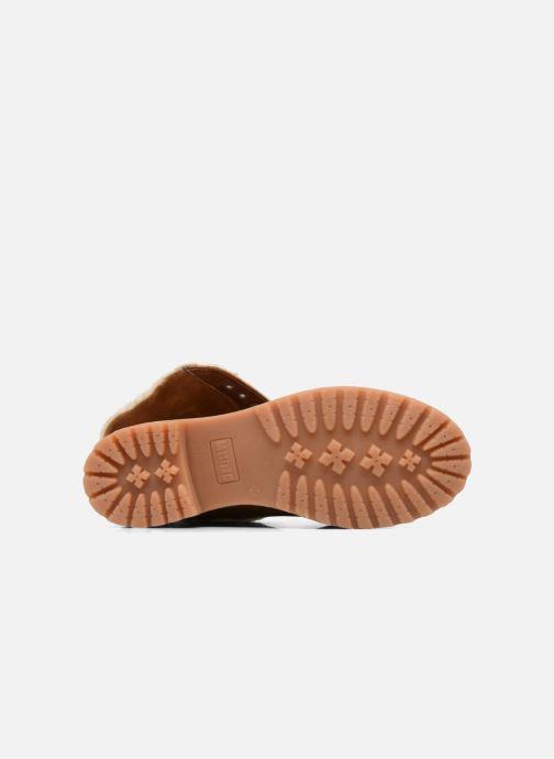 Bottines et boots Mustang shoes Guibaj Marron vue haut