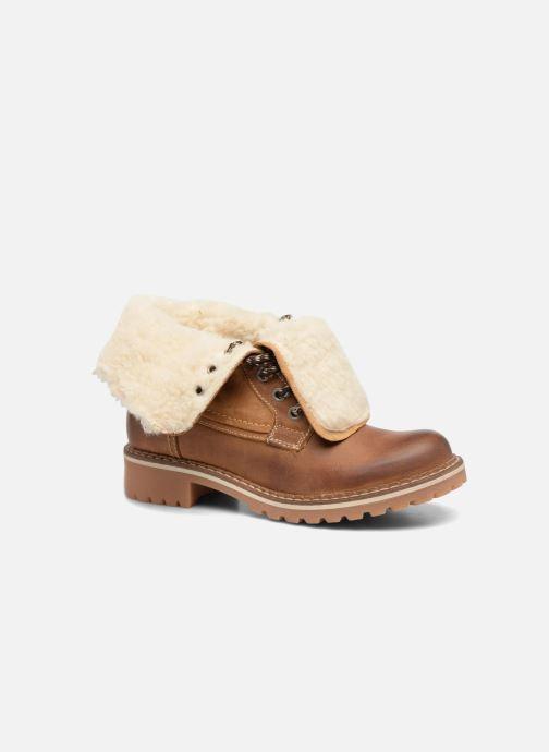 Bottines et boots Mustang shoes Guibaj Marron vue détail/paire