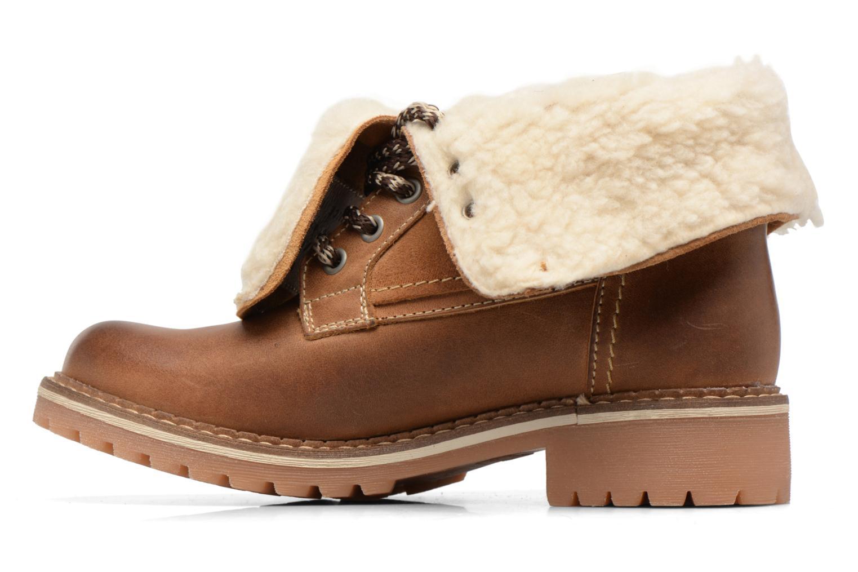 Bottines et boots Mustang shoes Guibaj Marron vue face
