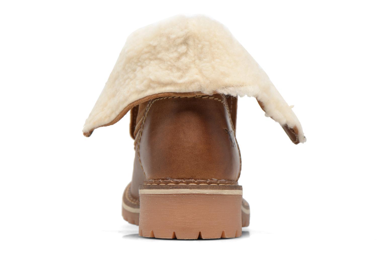 Bottines et boots Mustang shoes Guibaj Marron vue droite