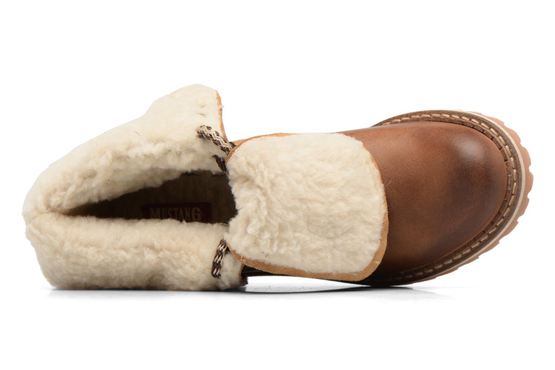Bottines et boots Mustang shoes Guibaj Marron vue gauche