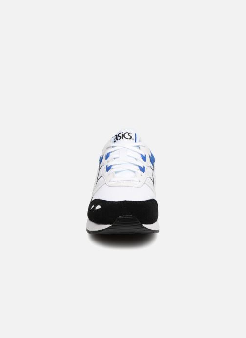 Baskets Asics Gel-Lyte Blanc vue portées chaussures