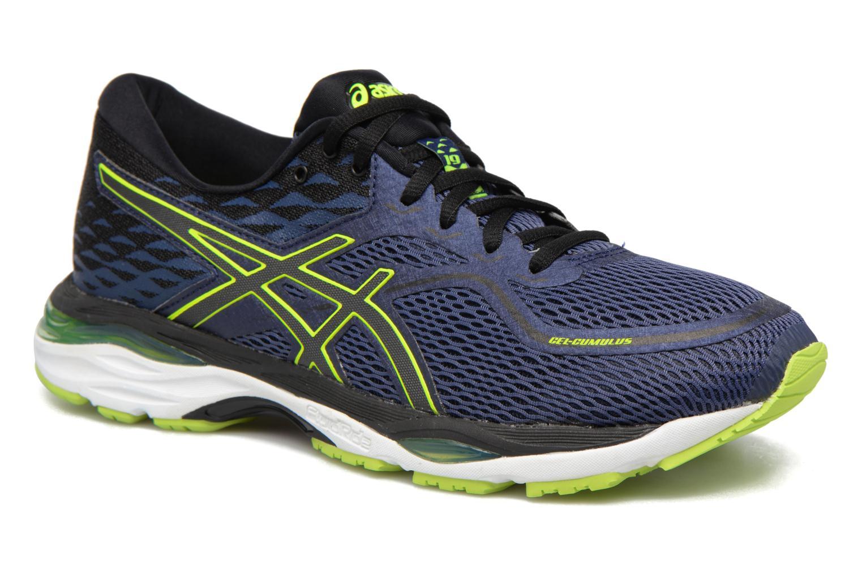 Chaussures de sport Asics Gel-Cumulus 19 Bleu vue détail/paire