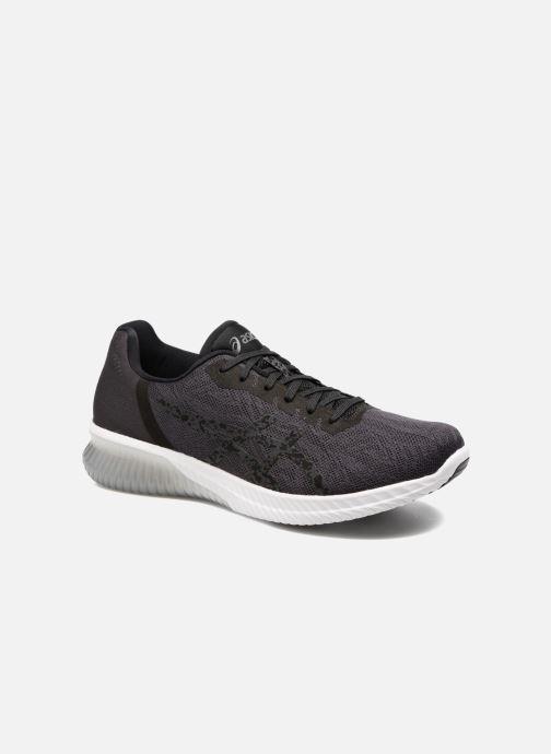 Sportssko Asics Gel-Kenun Sort detaljeret billede af skoene