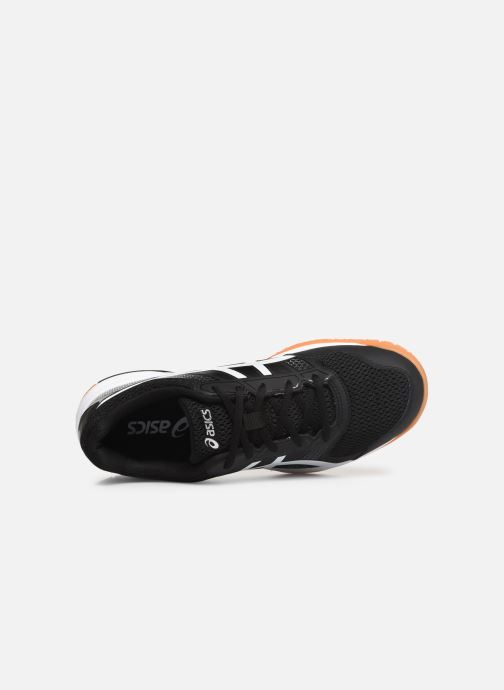 Sport shoes Asics Gel-Rocket 8 Black view from the left