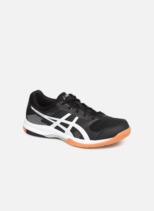 Sport shoes Asics Gel-Rocket 8 Black detailed view/ Pair view