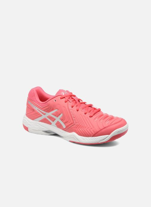 Sport shoes Asics Gel-Game 6 Pink detailed view/ Pair view