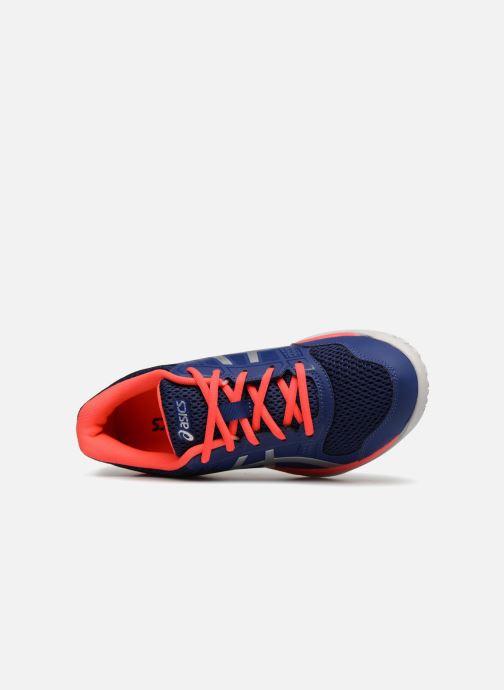 Sportschoenen Asics Gel-Rocket 8 W Blauw links