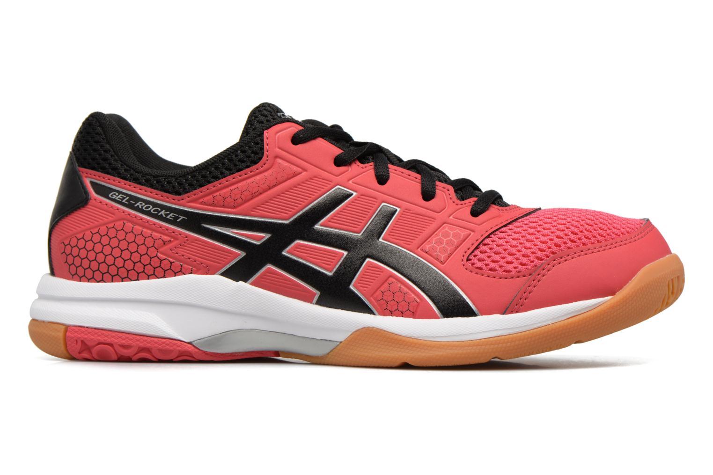 Chaussures de sport Asics Gel-Rocket 8 W Rouge vue derrière