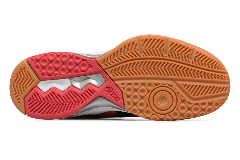 Chaussures de sport Asics Gel-Rocket 8 W Rouge vue haut