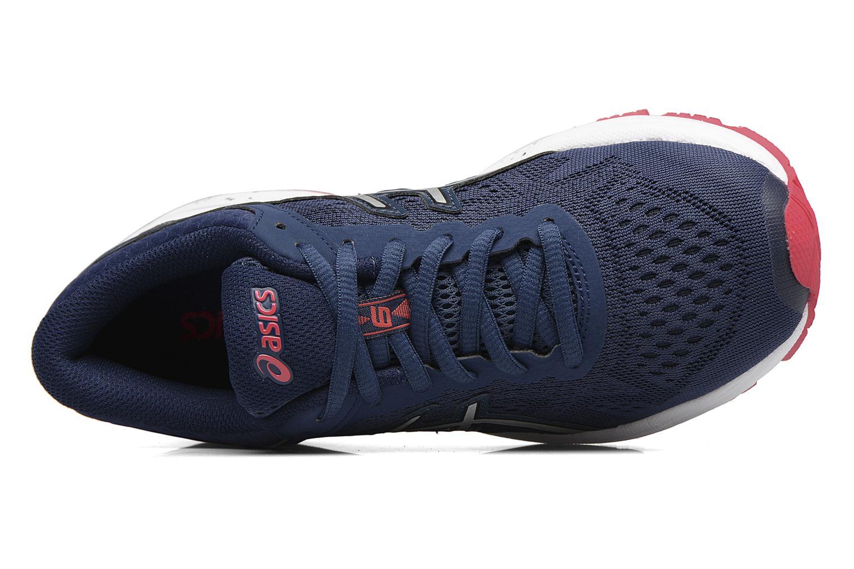 Chaussures de sport Asics GT 1000 6 W Bleu vue gauche