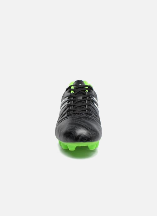 Chaussures de sport Asics Match Cs W Noir vue portées chaussures