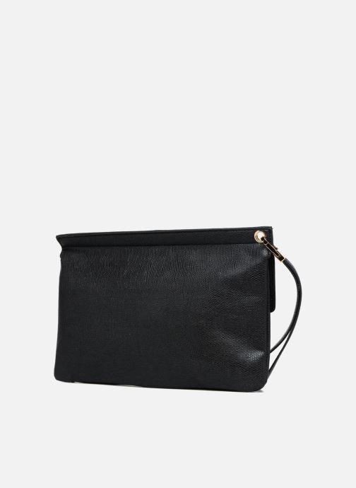 Handtaschen Les P'tites Bombes Pochette schwarz ansicht von rechts