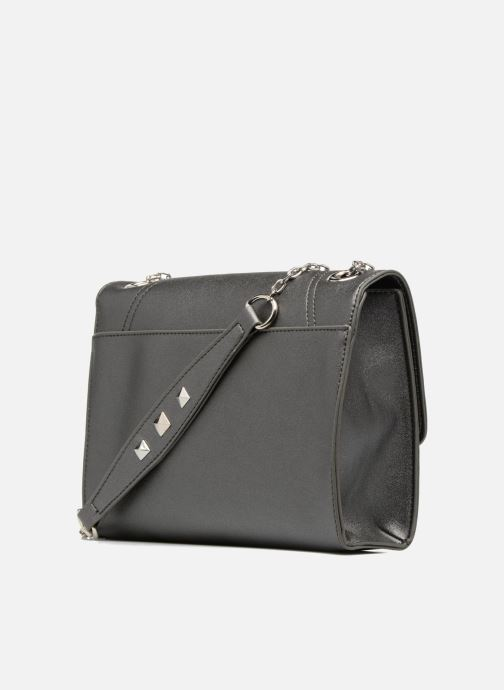 Handbags Les P'tites Bombes Pochette chaine Grey view from the right