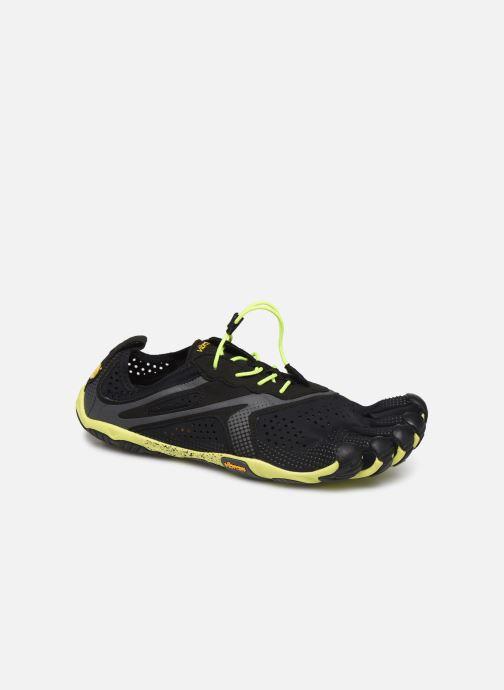 Chaussures de sport Vibram FiveFingers V-Run Noir vue détail/paire