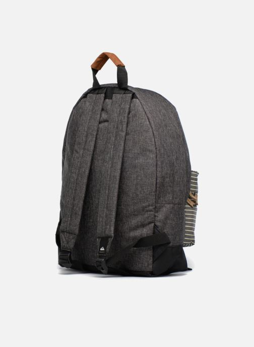 Mochilas Quiksilver Everyday Poster Plus Gris vista lateral derecha