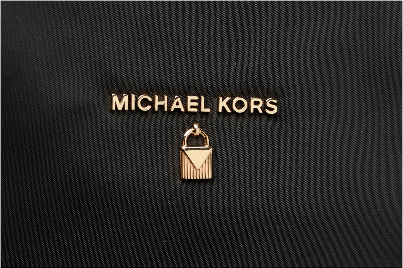 Sacs à main Michael Michael Kors LG TZ TOTE NYLON KELSEY Noir vue gauche