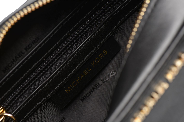 Sacs à main Michael Michael Kors GIN NY MD CAMERA BAG ETOILES Noir vue derrière