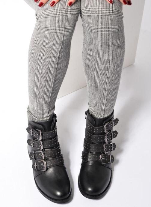 Bottines et boots I Love Shoes THRIDE Noir vue bas / vue portée sac