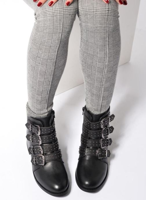 Thride Black Boots Shoes Et Love I Pu Bottines doCxBreW