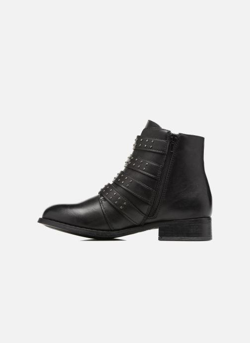 Ankelstøvler I Love Shoes THRIDE Sort se forfra