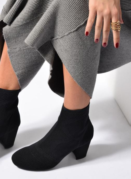 Bottines et boots I Love Shoes THOSET Stretch Noir vue bas / vue portée sac