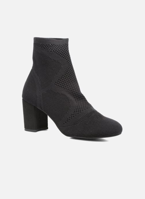 Bottines et boots I Love Shoes THOSET Stretch Noir vue détail/paire