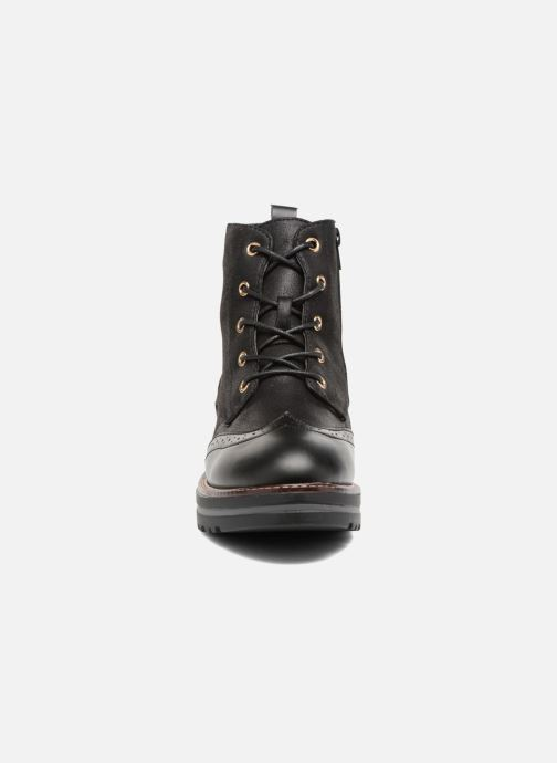 Chaussures à lacets I Love Shoes THASETO Noir vue portées chaussures