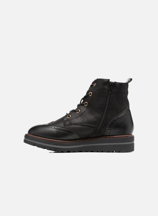 Chaussures à lacets I Love Shoes THASETO Noir vue face