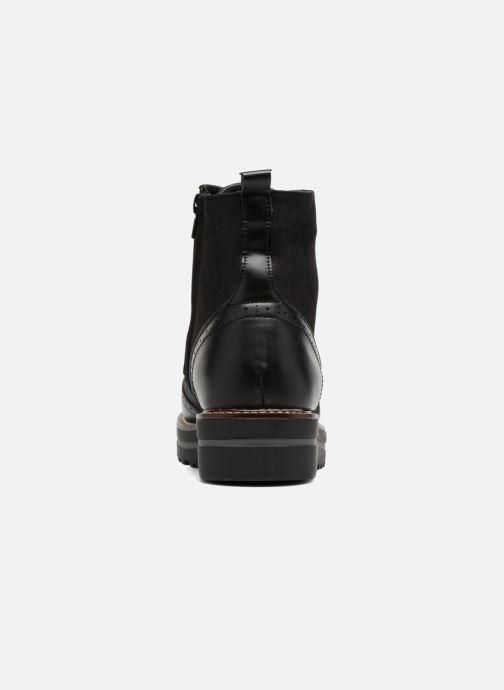 Chaussures à lacets I Love Shoes THASETO Noir vue droite
