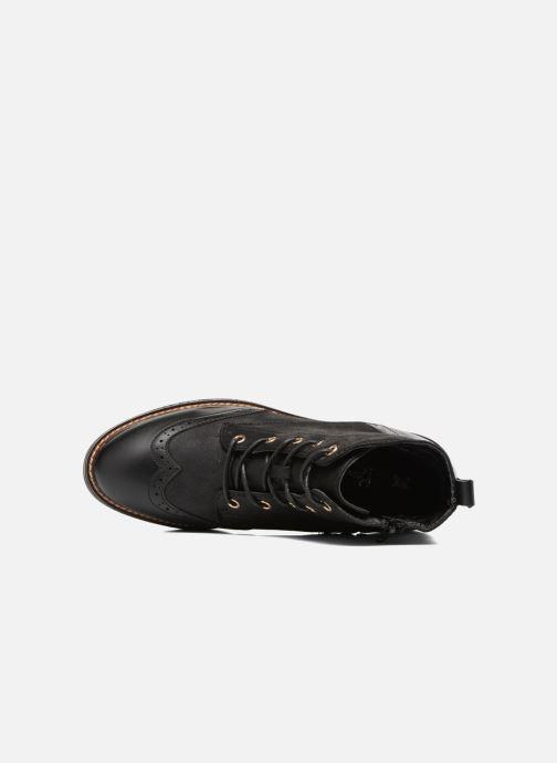 Chaussures à lacets I Love Shoes THASETO Noir vue gauche