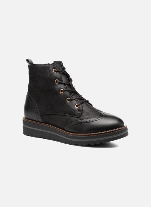 Chaussures à lacets I Love Shoes THASETO Noir vue détail/paire