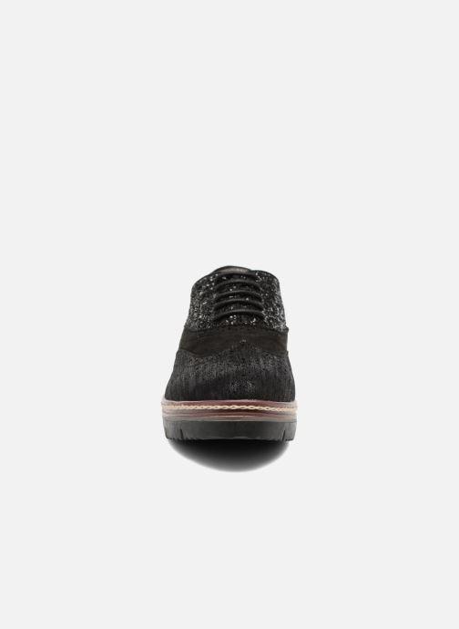 Zapatos con cordones I Love Shoes THELI Negro vista del modelo